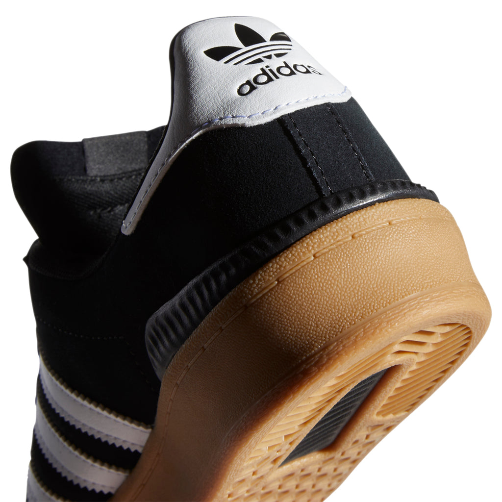 Adidas Campus ADV Shoes in Core Black / Footwear White / Gum 4 - Heel tab