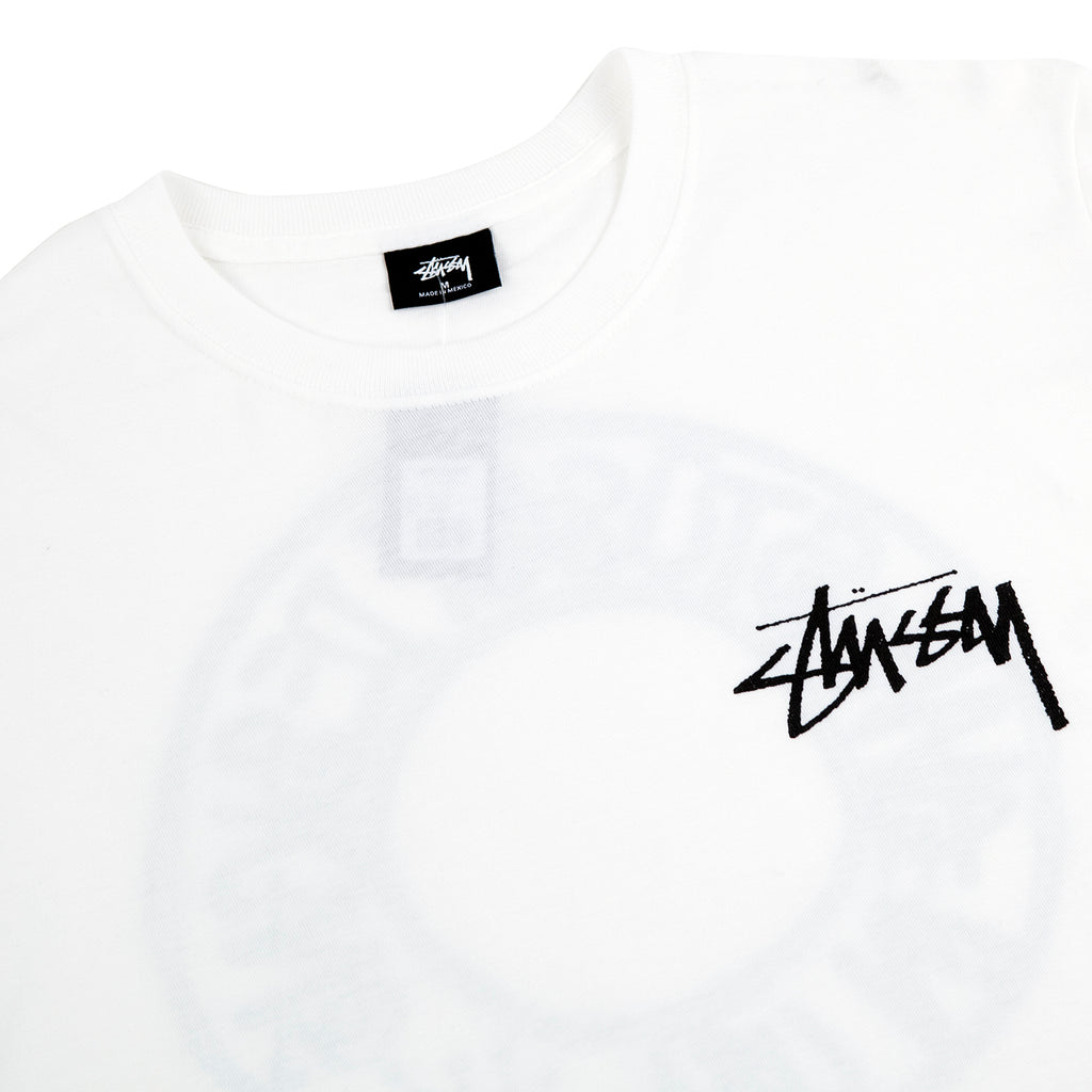 Stussy Buana T Shirt in White - Detail