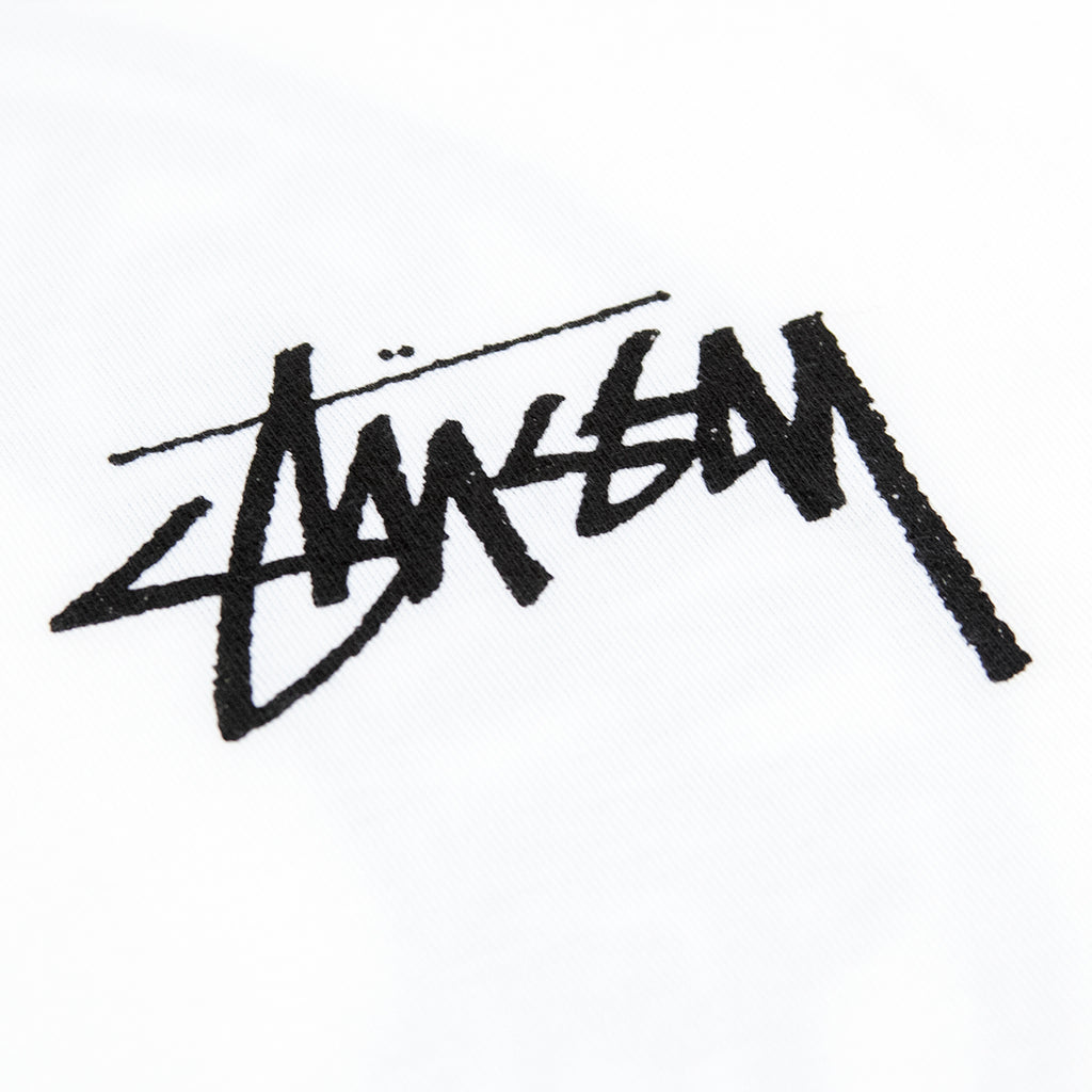 Stussy Buana T Shirt in White - Print