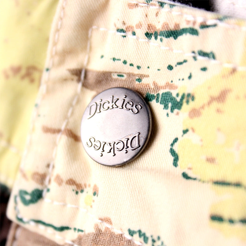 DICKIES PALM VALLEY SHORT YELLOW - Button