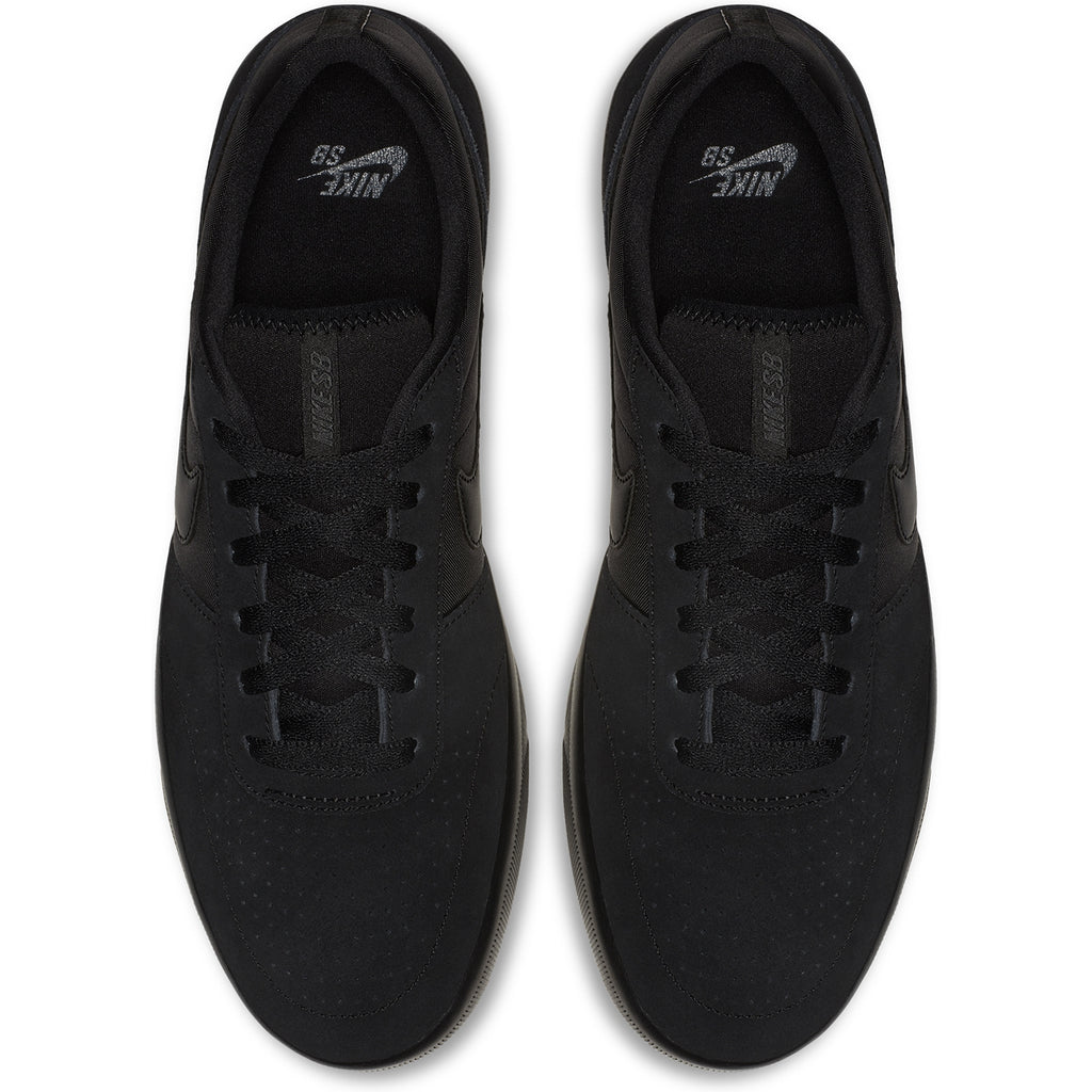 Nike SB Team Classic Shoes in Black / Black - Anthracite - Top