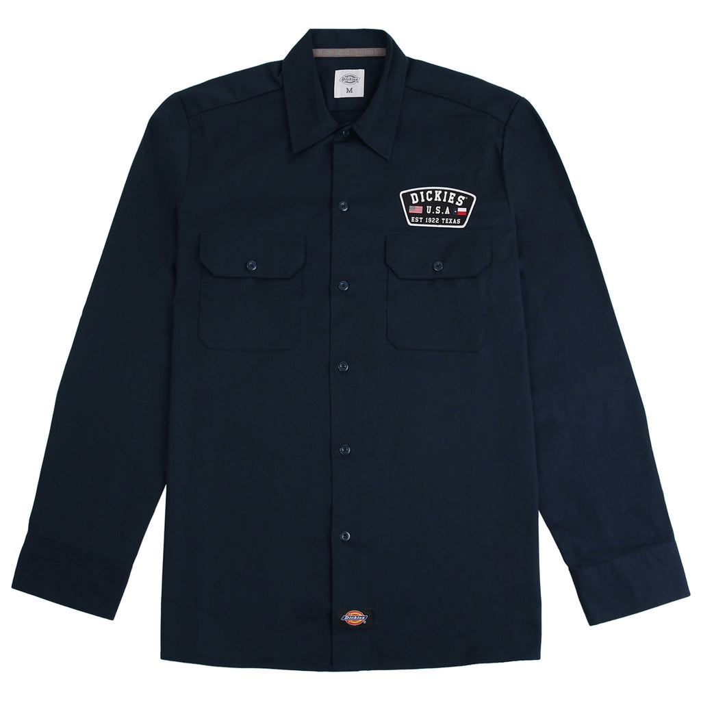 Dickies Minersville Shirt in Dark Navy