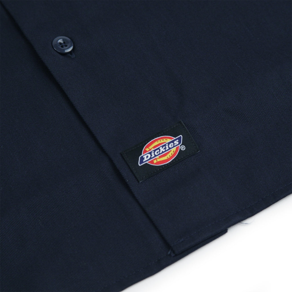 Dickies Minersville Shirt in Dark Navy - Label 2