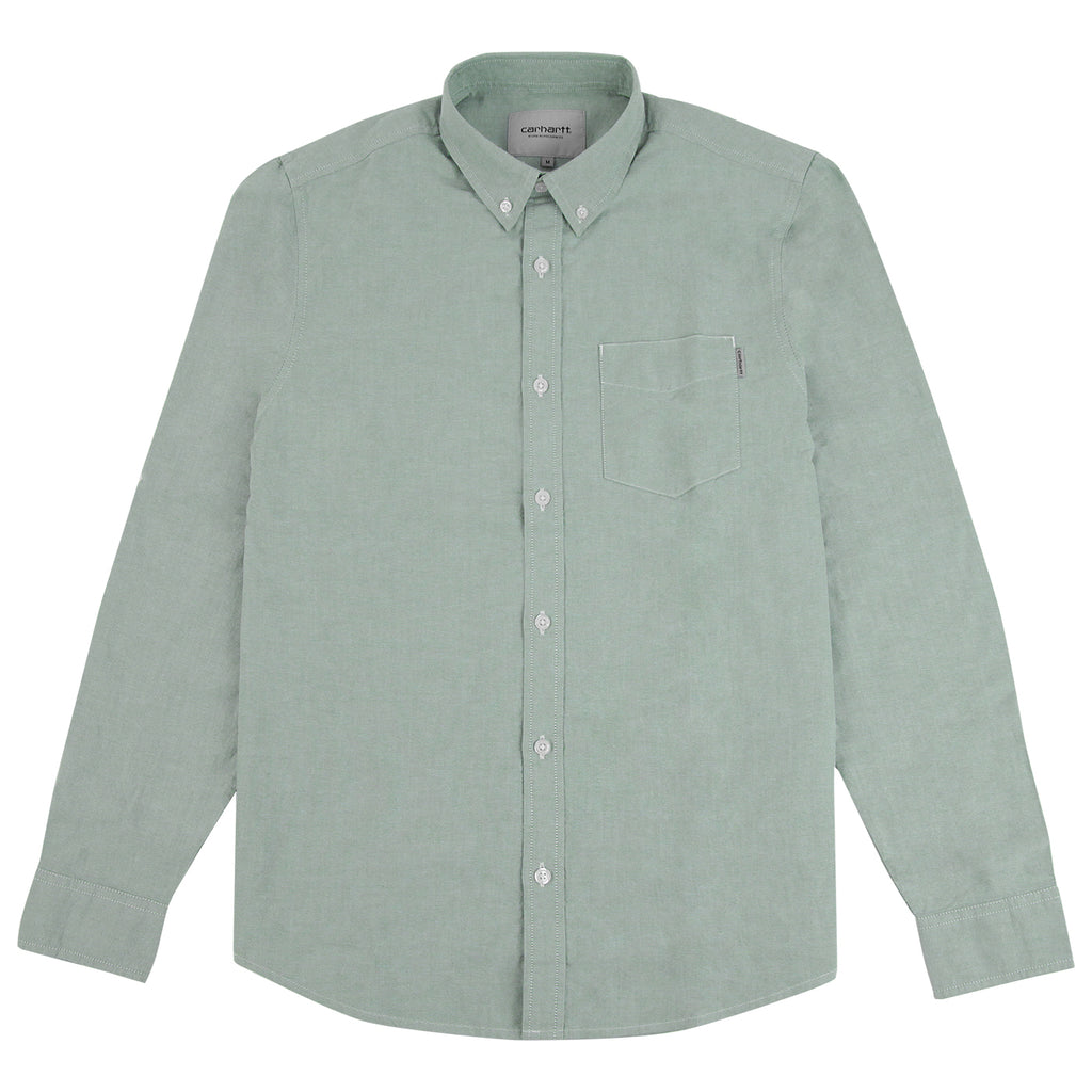 Carhartt L/S Button Down Pocket Shirt in Mojito