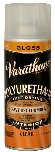 Varathane Polyurethane Spray for Interior - Oil Based - Gloss