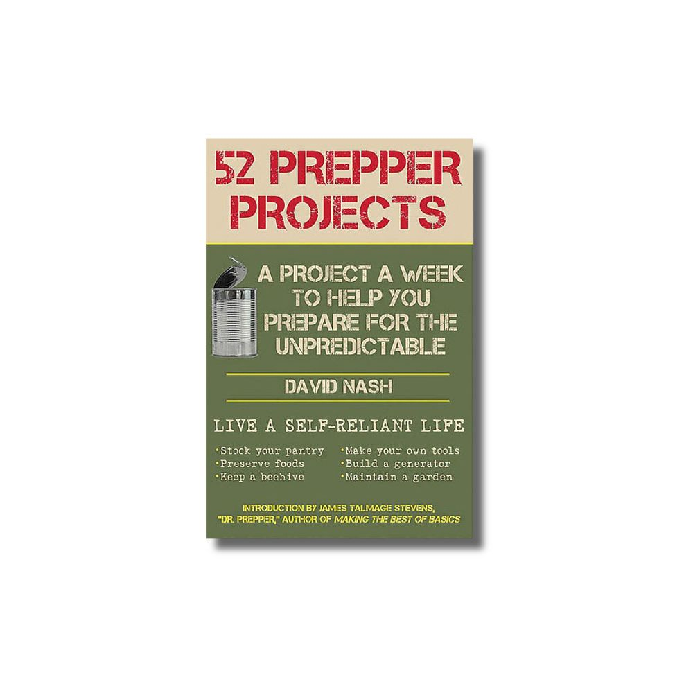 52 Prepper Projects, books for preppers, preparedness information