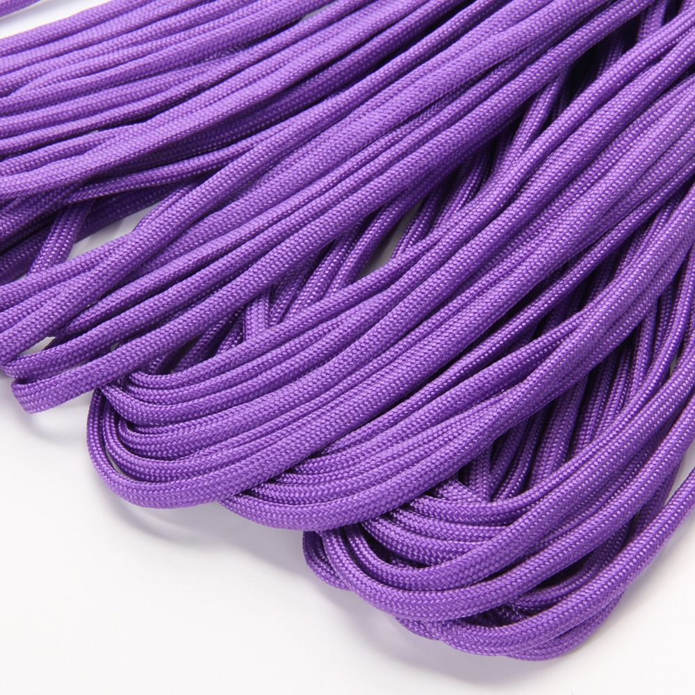 100 Ft 550 Paracord Purple enlarged