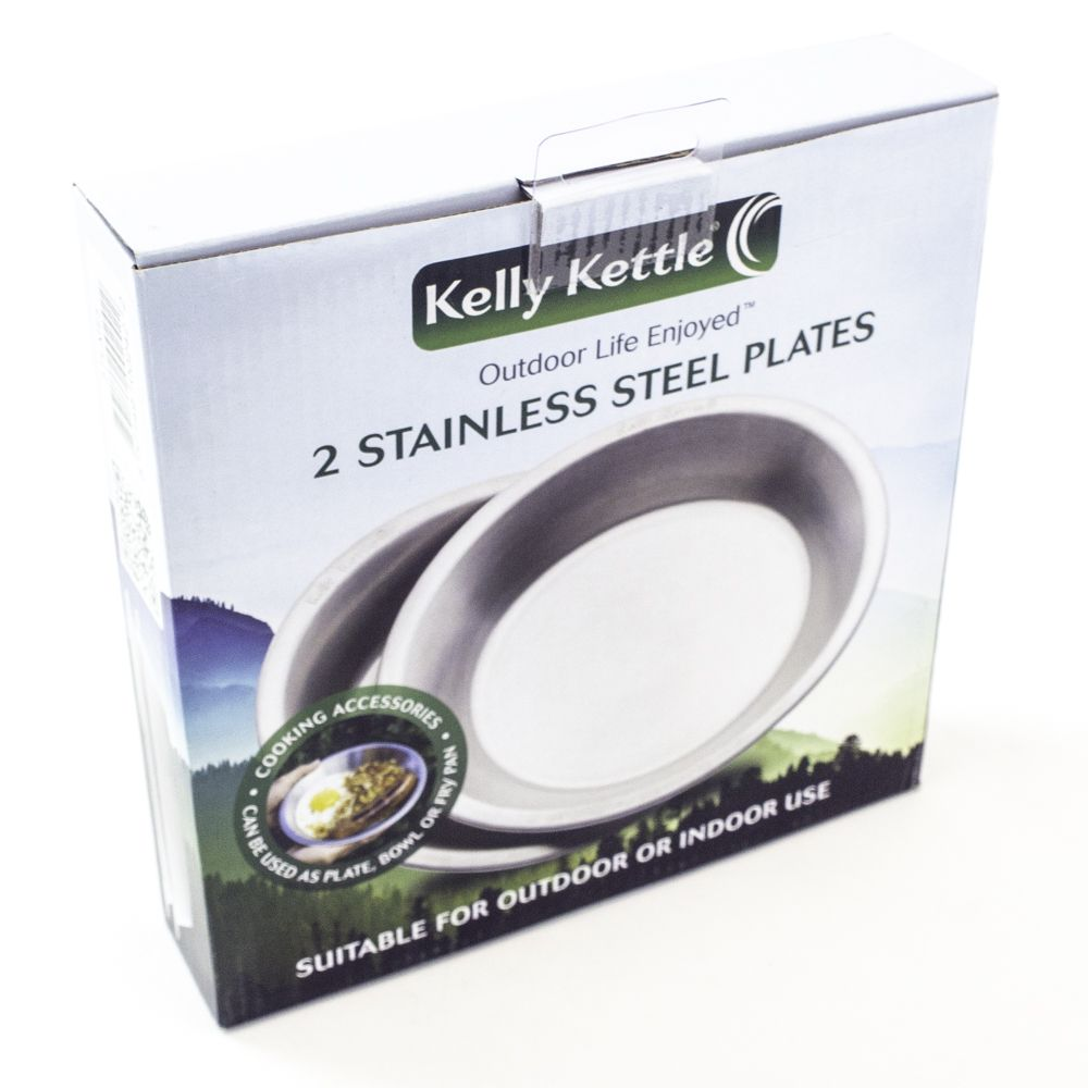 Kelly Kettle Stainless Steel Plates 02