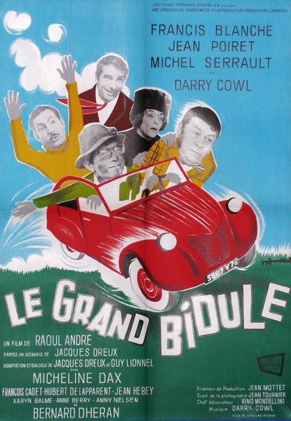 Le Grand Bidule, Original Movie Poster