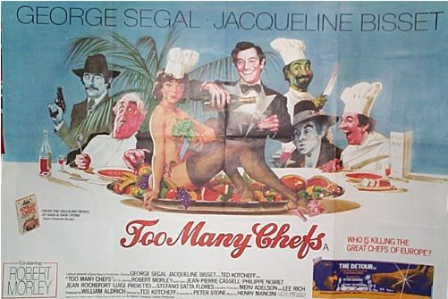 Too Many Chefs  UK Quad 1978