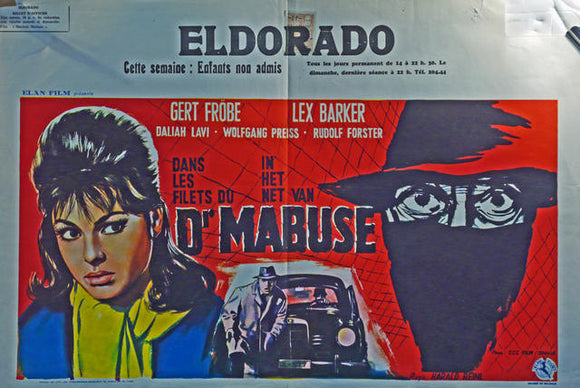 The Return of Doctor Mabuse  Belgium 1961
