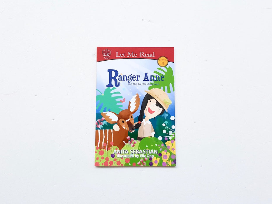 Ranger Anne and the Gentle Antelope - Localbooks.sg