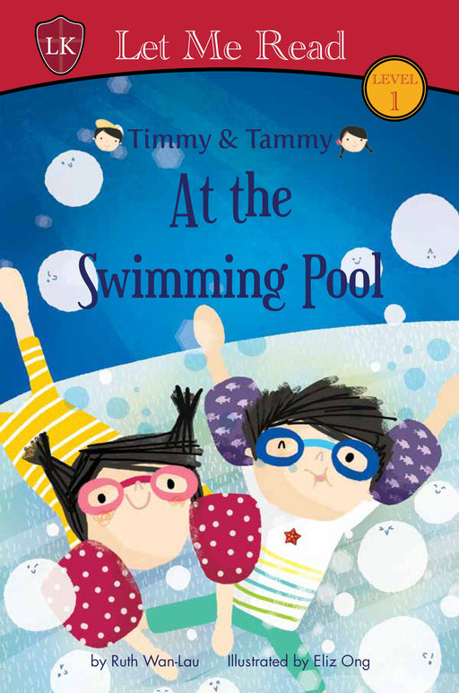 Timmy & Tammy Series (Level 1): At the Swimming Pool