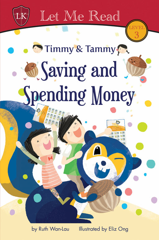 Timmy & Tammy Series (Level 3): Saving and Spending Money