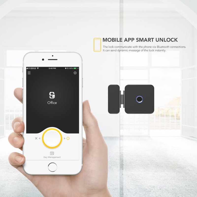 Smart Lock Glass Door Lock