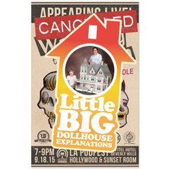 Little Big Dollhouse Explanations - Live WTR Poster 2015