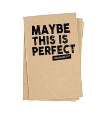 Maybe This Is Perfect - Notebook