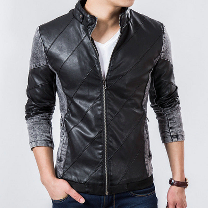 Denim Black Trendy fall Jacket