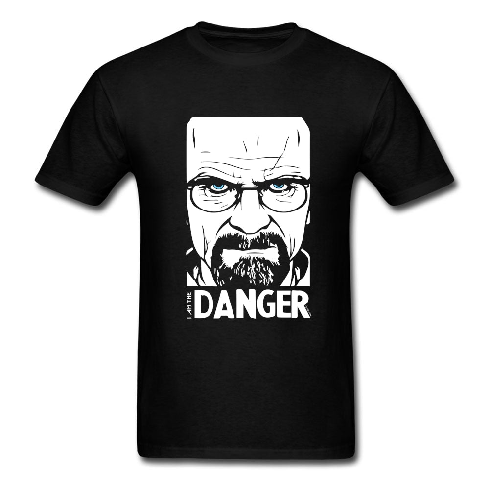 Breaking Bad Tshirt Homme Tshirt Big and Tall Soft Cotton Crew Neck