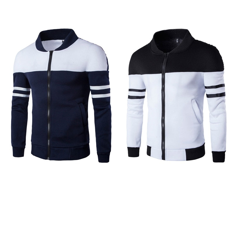 Men's jackets NEW Splicing color jacket Fashion 1Pcs jacket