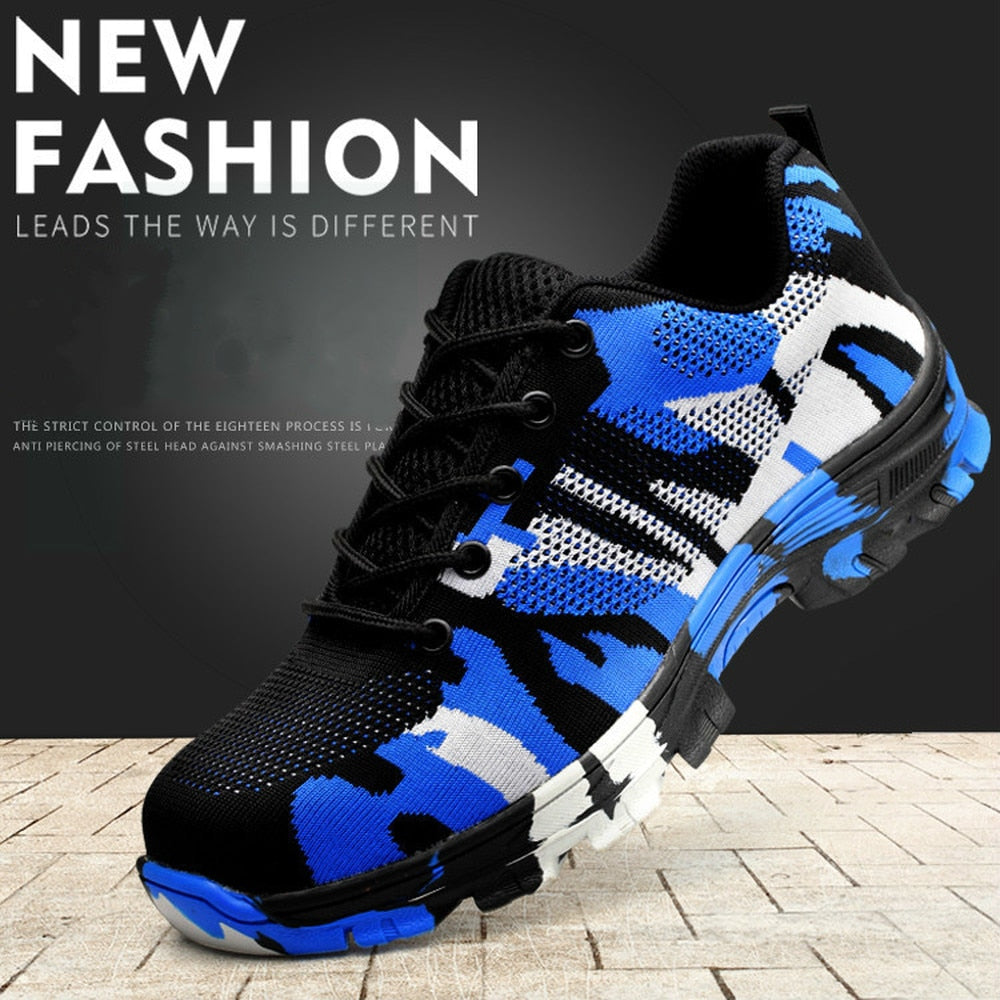 New smash and piercing safety protective shoes men shoes