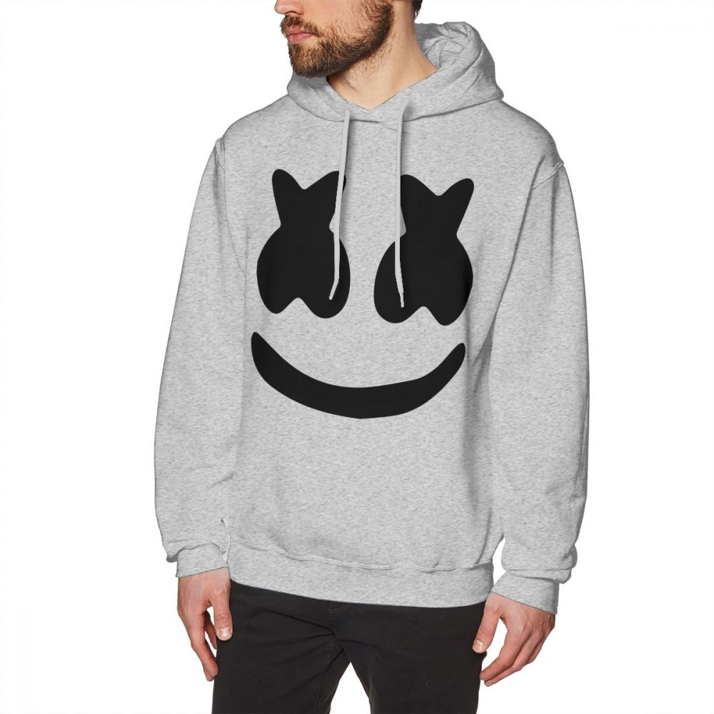 Marshmello HoodieMale Long Pullover Cotton Large Streetwear hoodies