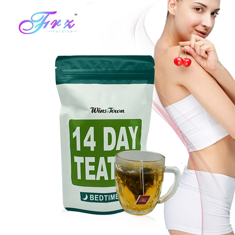 2 Bags 14 Days Natural Slimming product Fat Buring Weight Losing Slimming Herbal Product
