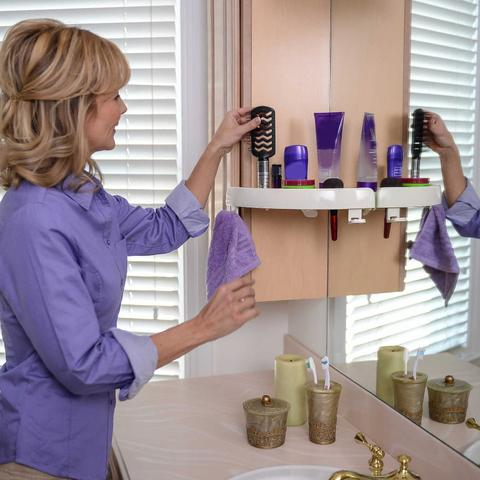 Snap Up Shelf - Corner Storage Holder Shelves Rack(2/3 Pcs)