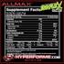 ALLMAX ISOFLEX  CHILLER NUTRITION FACTS