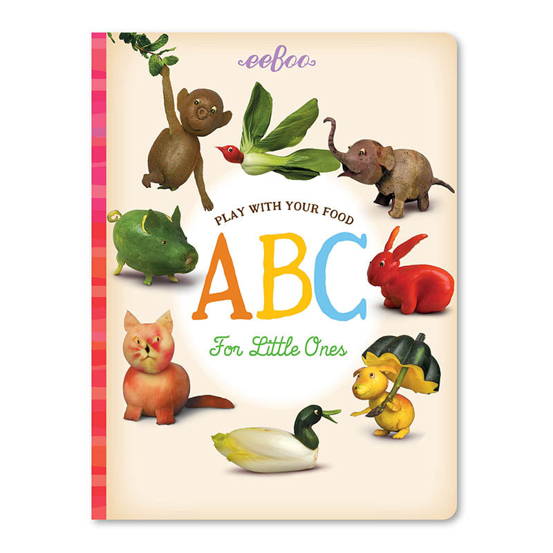 Eeboo Play With Your Food Educational Book ABC