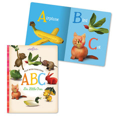 Eeboo Play With Your Food Educational Book ABC inside