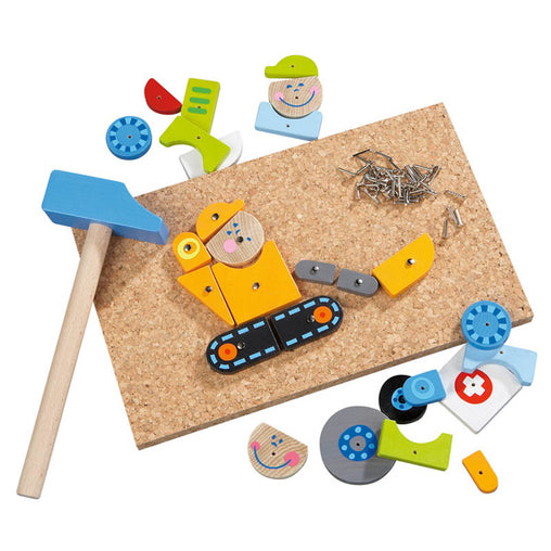 Haba On Duty Tack Zap Hammer Activity Set