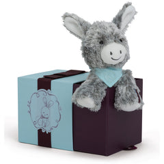 Kaloo Les Amis Donkey Soft Toy 19cm Grey in Box