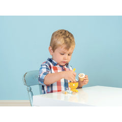 Le Toy Van Honeybake Chicky-Chick Egg Cup Set Boy