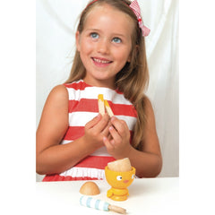 Le Toy Van Honeybake Chicky-Chick Egg Cup Set Girl