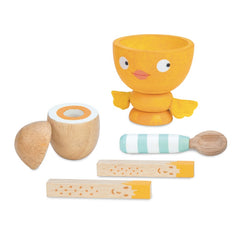 Le Toy Van Honeybake Chicky-Chick Egg Cup Set
