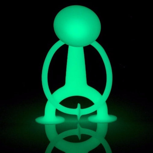 Moluk Oogi Glow in the Dark Silicone Suction Toy