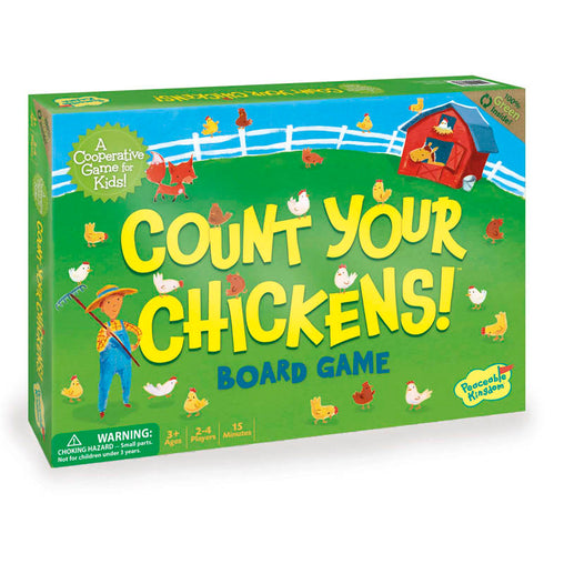 Peaceable Kingdom Cooperative Game Count Your Chickens