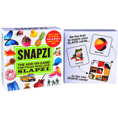 Carma Games Snapzi An add-on for the Game Slapzi Back Packaging