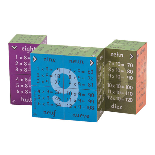 Zoobookoo Cube Book Multiplication Tables