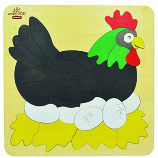 Puzzle Chicken Double Layer