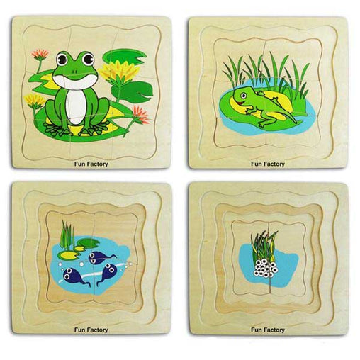 Fun Factory Layered Puzzle Frog