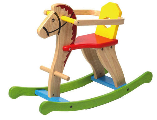 Rocking Horse with Guard Coloured