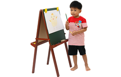 Voila - Wooden Standing Easel Dark Brown 4