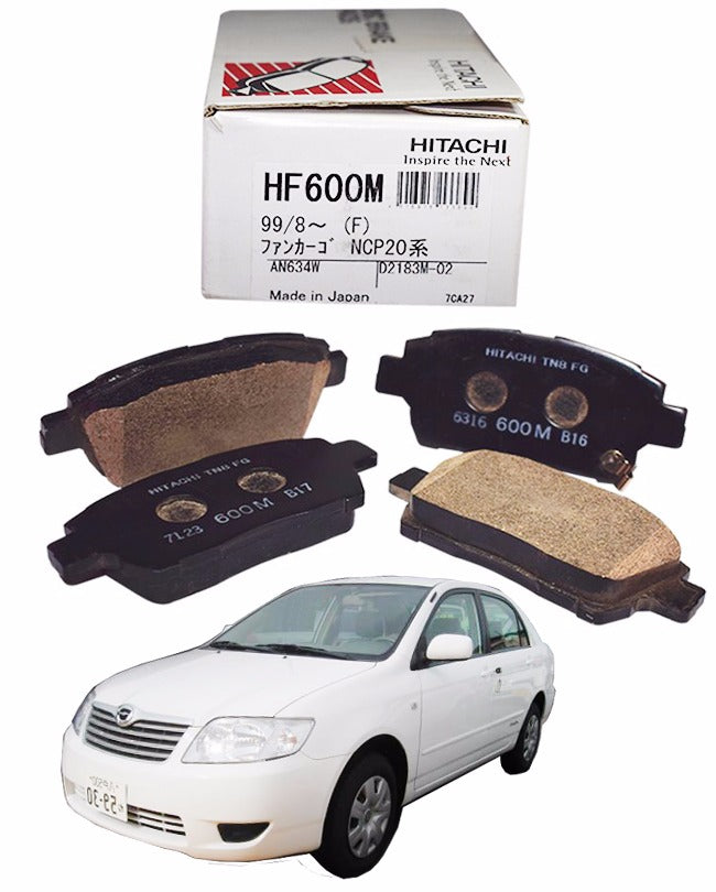 Toyota X Corolla 2003 to 2008 - Disc Brake Pads Front