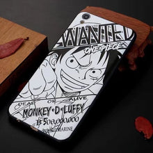 Coque Art iPhone (5 Persos) - One Piece - Luffy / for iphone 6 6s