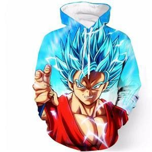 Pull Goku Super Saiyan Blue - color as the picture 6 / S