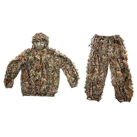All Season 3D Leafy Camo Suit - Jacket and Pants