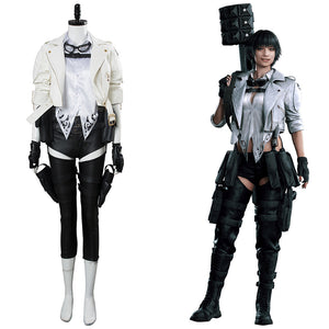 Devil May Cry DMC5 DMCV Mary Lady Cosplay Kostüm SET