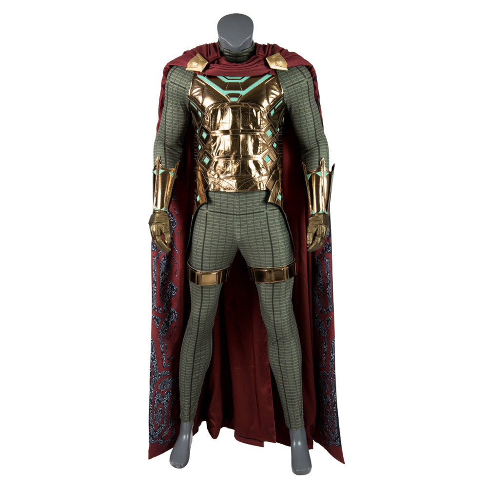 Spider Man: Far from Home Jake Gyllenhaals Mysterio Cosplay Kostüm